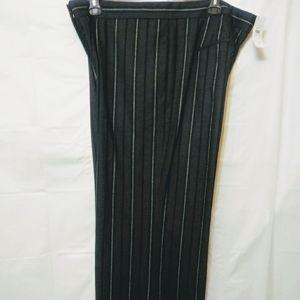 Ann Taylor Stripe Wide Leg Pants